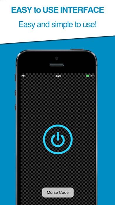 Morse Code Transmitter (Free App Download) screenshot two