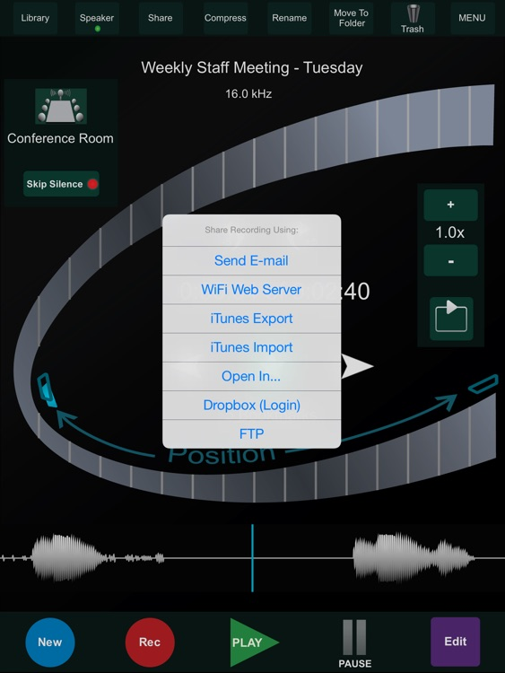 HT Recorder for iPad
