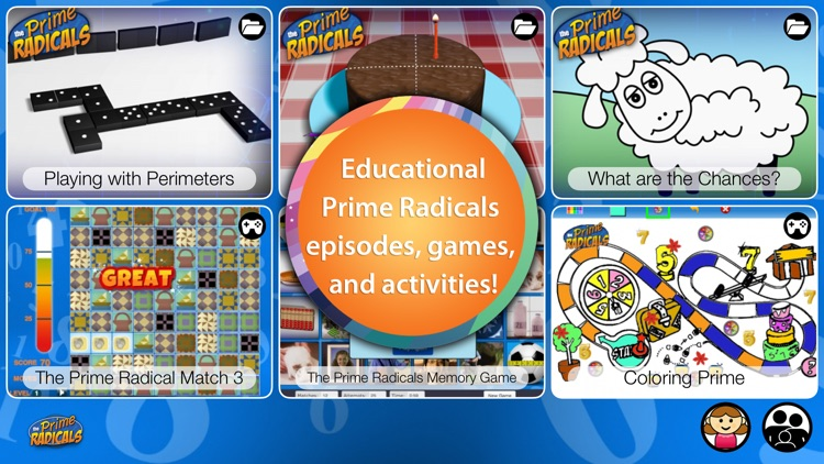 Prime Radicals - Fun Math and Science Games and Videos for Kids
