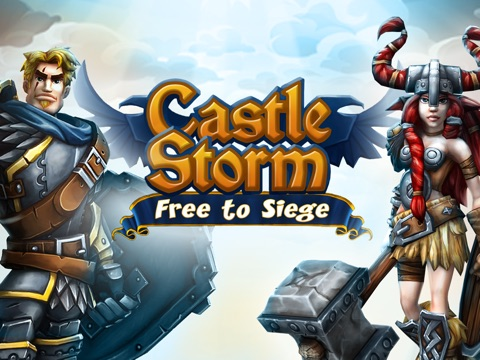 Screenshot #1 for CastleStorm - Free to Siege