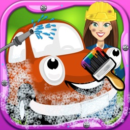 Little Kids car spa and Washing - free kids games