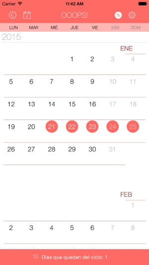 como se calcula ahora periodo menstrual