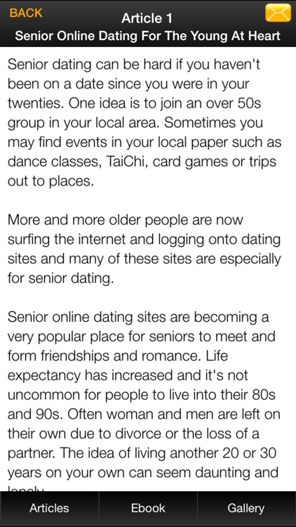 Online Senior Dating Guide - Learn How to Find Your Soulmate Now screenshot-3