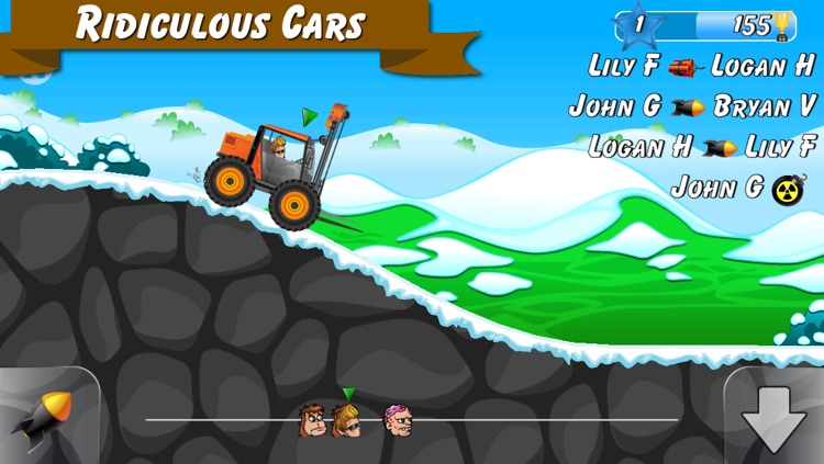 Junk Race - Live Multiplayer Racing