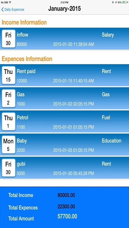 Daily Expenses Manager screenshot-3