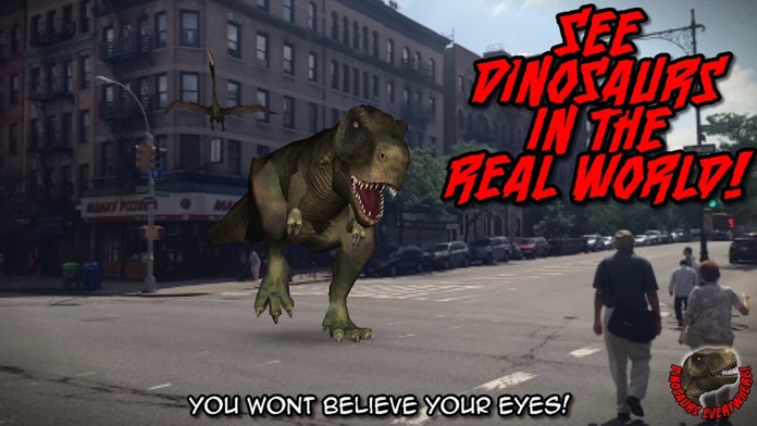 Dinosaurs Everywhere! A Jurassic Experience In Any Park! Screenshot