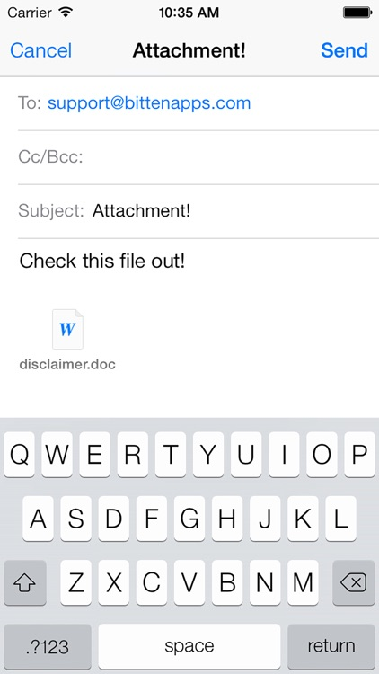 Email This! (Attach Files, ...)