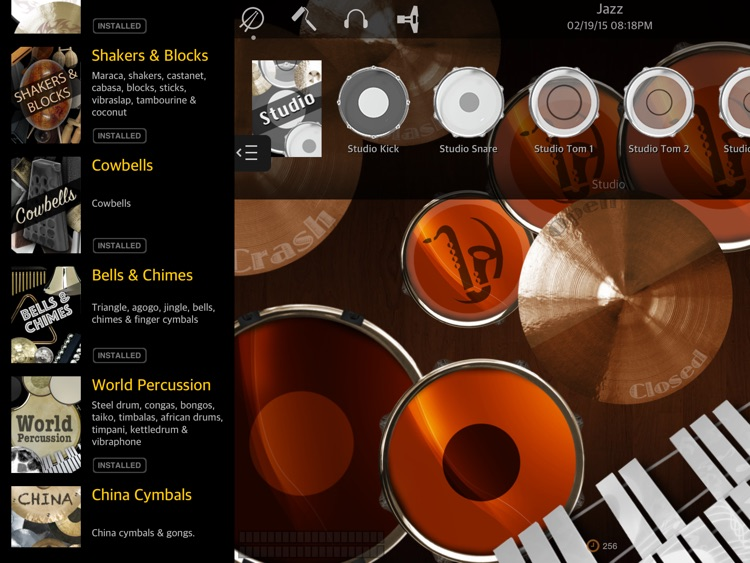 Drums XD FREE - Studio Quality Percussion Custom Built By You! screenshot-3