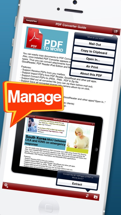 PDF Office Converter - for PDF to MS Word edition