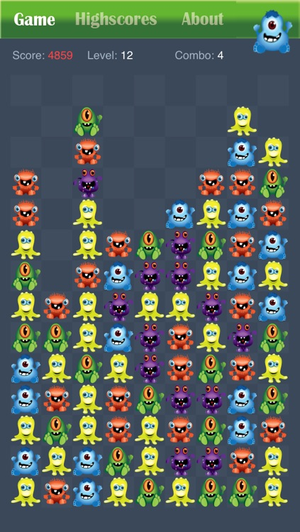 Monster Party Popping Puzzle Game Free - Halloween edition screenshot-3