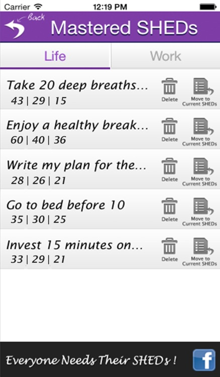 SHEDs+ – Set Good Habits Daily For Health, Motivation, Success, Happiness & A Better Life screenshot-4