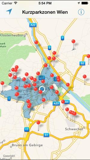 Kurzparkzonen Wien On The App Store