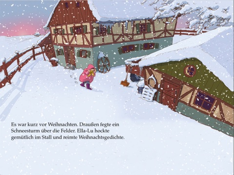 Weihnachtsgedichte Geschäftskunden.Pixi Ella Lu Die Weihnachtskuh By Ana Zabo Markus Spang On Apple Books