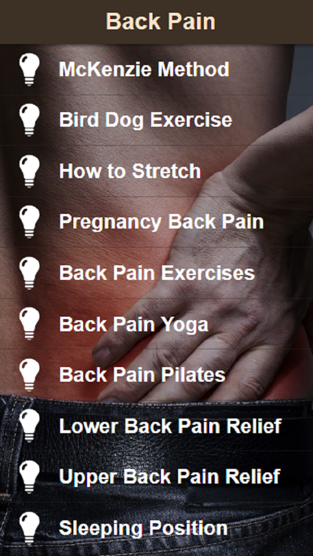 Back Pain Relief - Exercise for Low Back Pain and Neck Painのおすすめ画像1