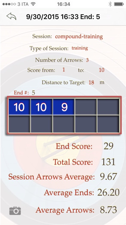 My Archery Stats - scores and statistics for archery screenshot-3
