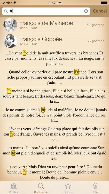 Poésie Français