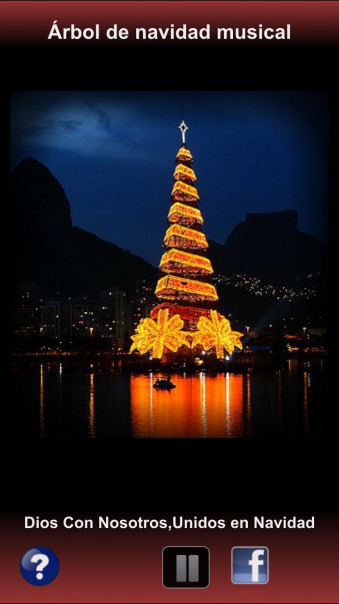 Árbol de navidad Villancicos Playlist Screenshot