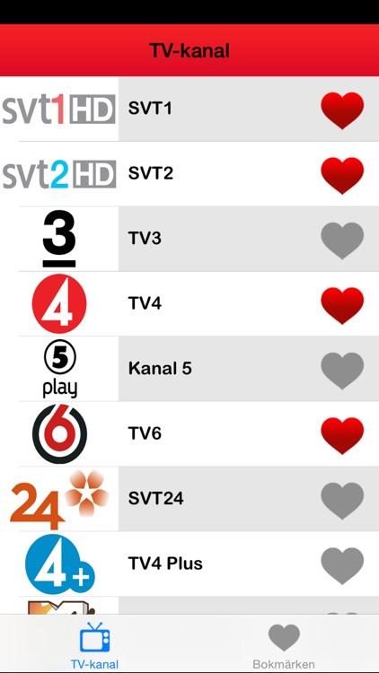 ► TV tablå Sverige: Svenska TV-kanaler Program (SE) - Edition 2014