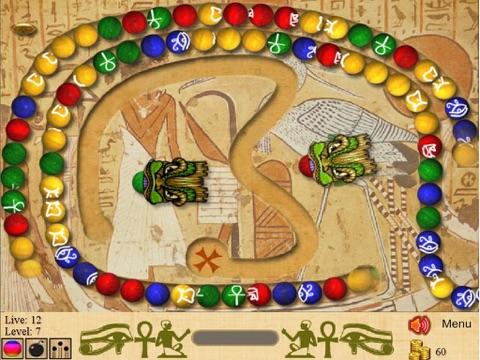 Marble Blast of Egypt для iPad