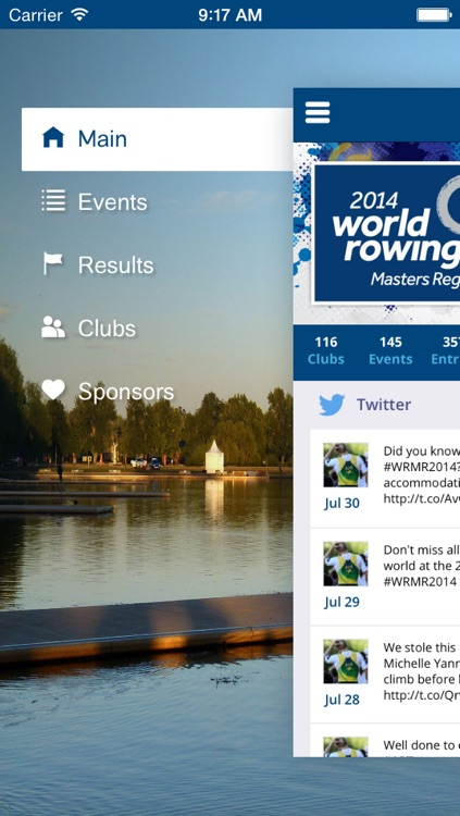 2014 World Rowing Masters Regatta screenshot-0