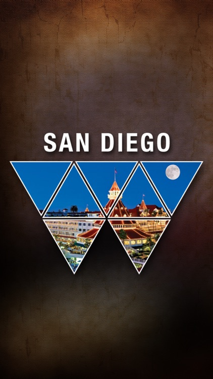 San Diego Offline Map Tourism Guide