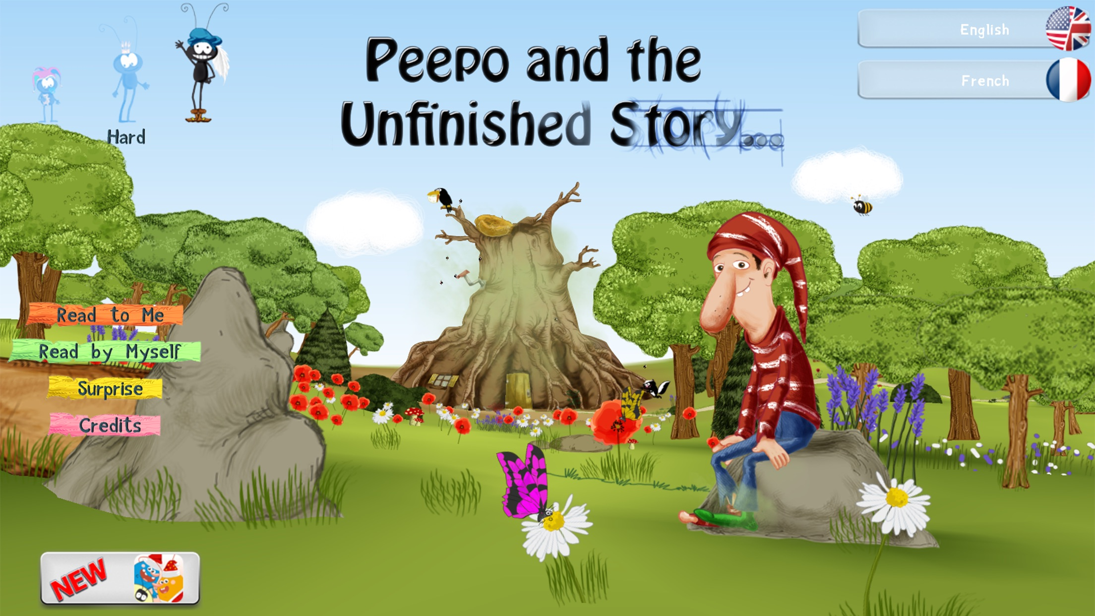 Peepo and the Unfinished Story - Free Screenshot