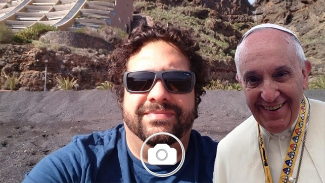 how to take selfie with iphone pope selfie on the app 5100