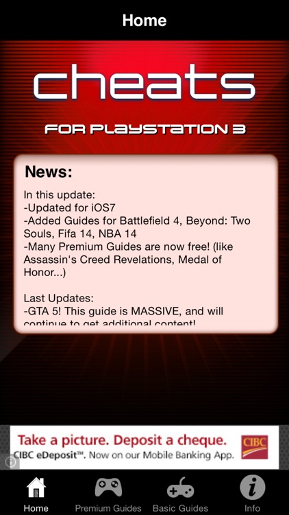 Cheats for PS3 Games - Including Complete Walkthroughs