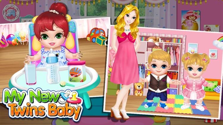 Baby Twins Play House  Free Kids Games! screenshot-3