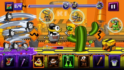 Mixels Rush phone App screenshot 5