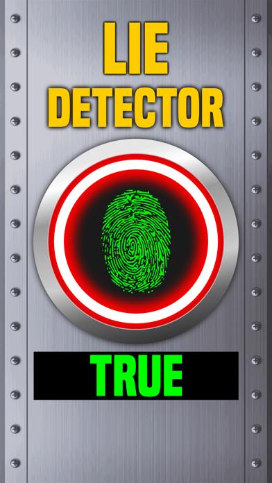Lie Detector Fingerprint Scanner Truth or Lying Touch Test HD + screenshot two