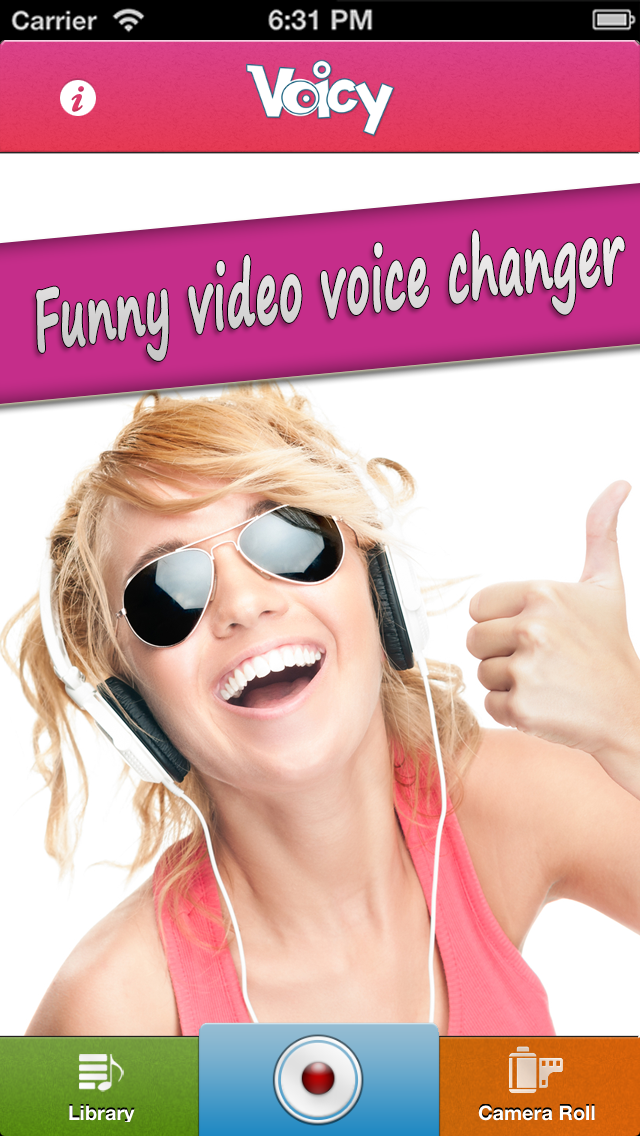 Voicy Helium Voice Change r & Record er - Transform er your video s