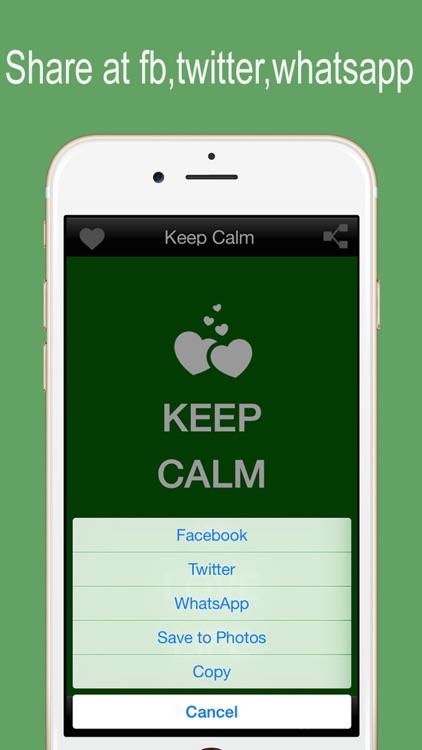 Keep Calm - Funny Poster Maker screenshot-4