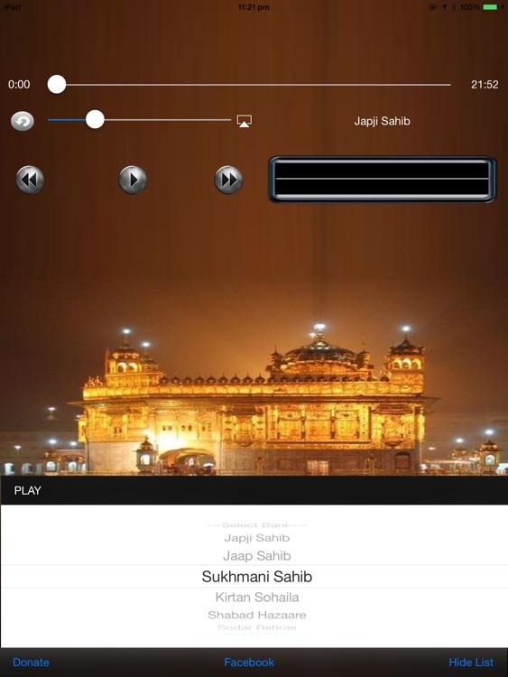 Audio Nitnem for iPad
