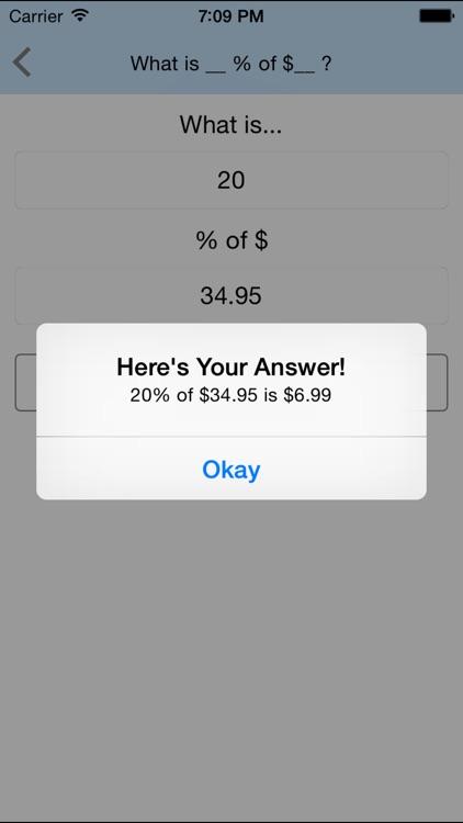 Percent Pal - Calculator & Converter