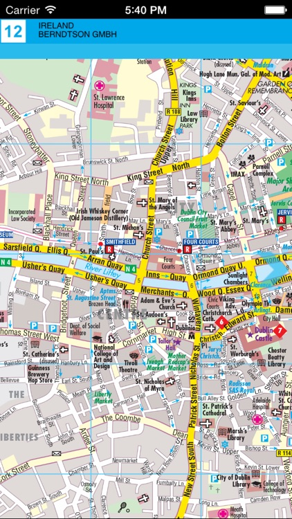 Ireland. Road map screenshot-3