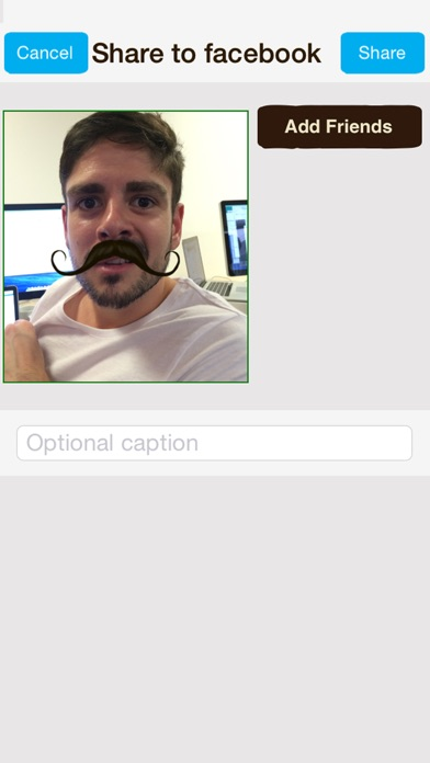 Screenshot #5 for MoTuner Photo Editor - Fast way to superimpose a mustache to your face!