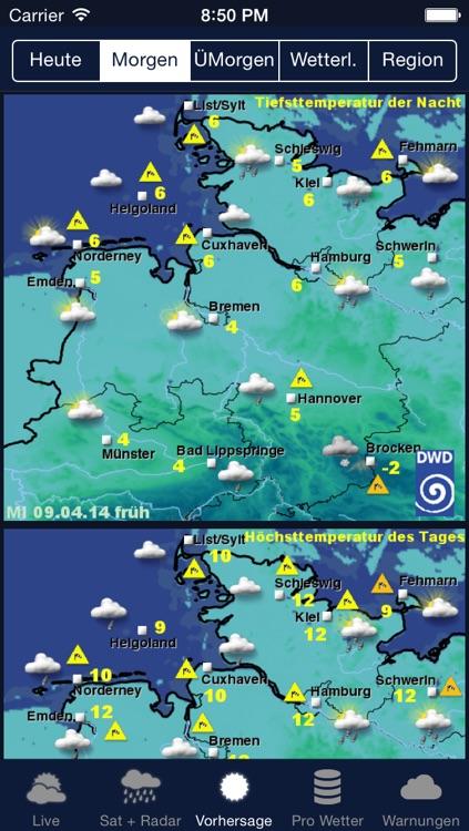 Das Wetter in Deutschland screenshot-4