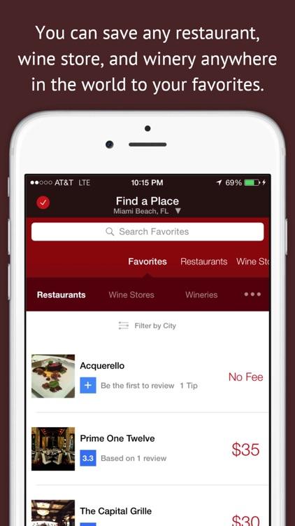 CorkageFee - Find BYOB Fees for Wine @ Restaurants screenshot-4