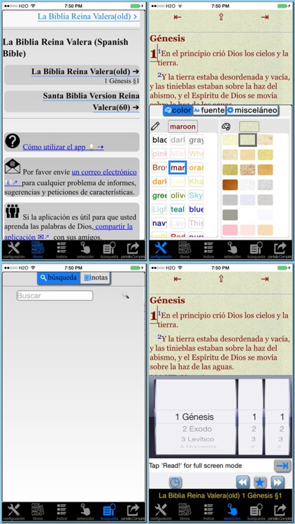 La Biblia Reina Valera (Spanish Bible) screenshot-0