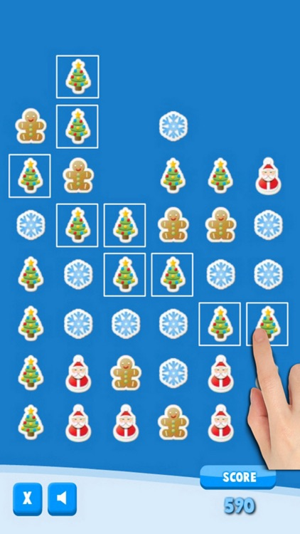 Christmas Stickers - Free X-mas Matching Puzzle Mania screenshot-3