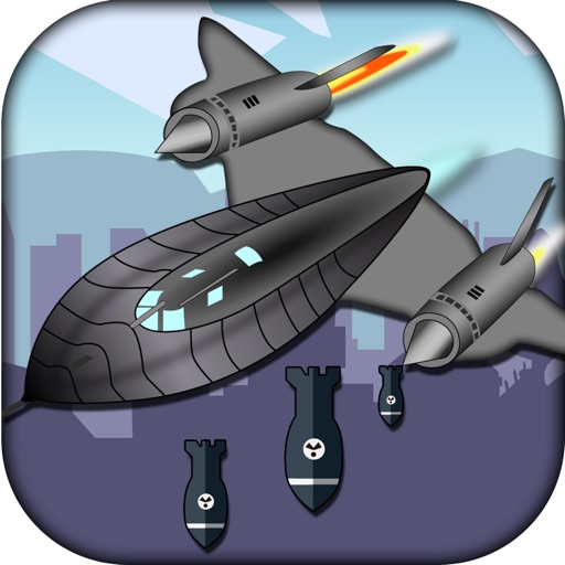 STEALTH BOMBER BLOW UP ATTACK - FUTURISTIC BUILDING BUSTER MANIA by Omega  Apps Inc