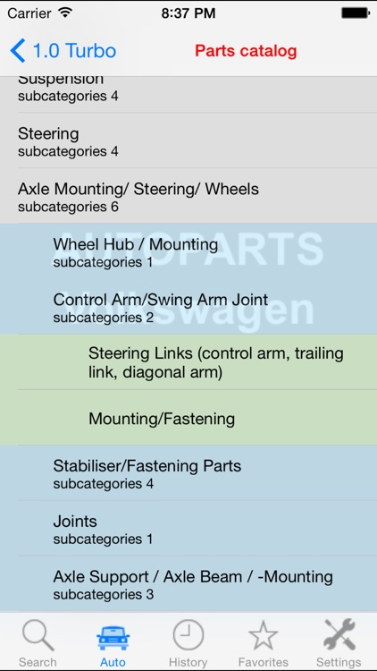 Autoparts for Volkswagen VW screenshot-3