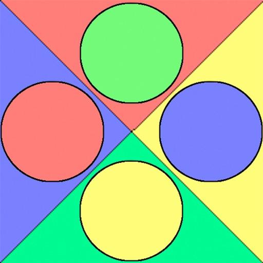 Dot Swirl - Match the Colored Dots