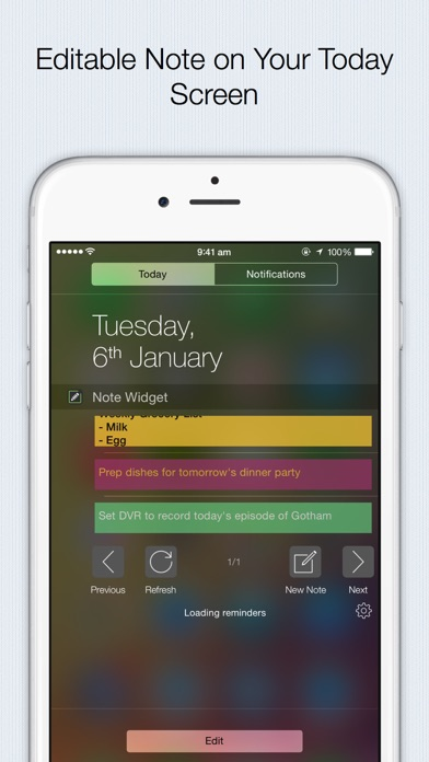 Note Widget - the fastest and most efficient way to add note,to-do,reminders,shopping list screenshot one