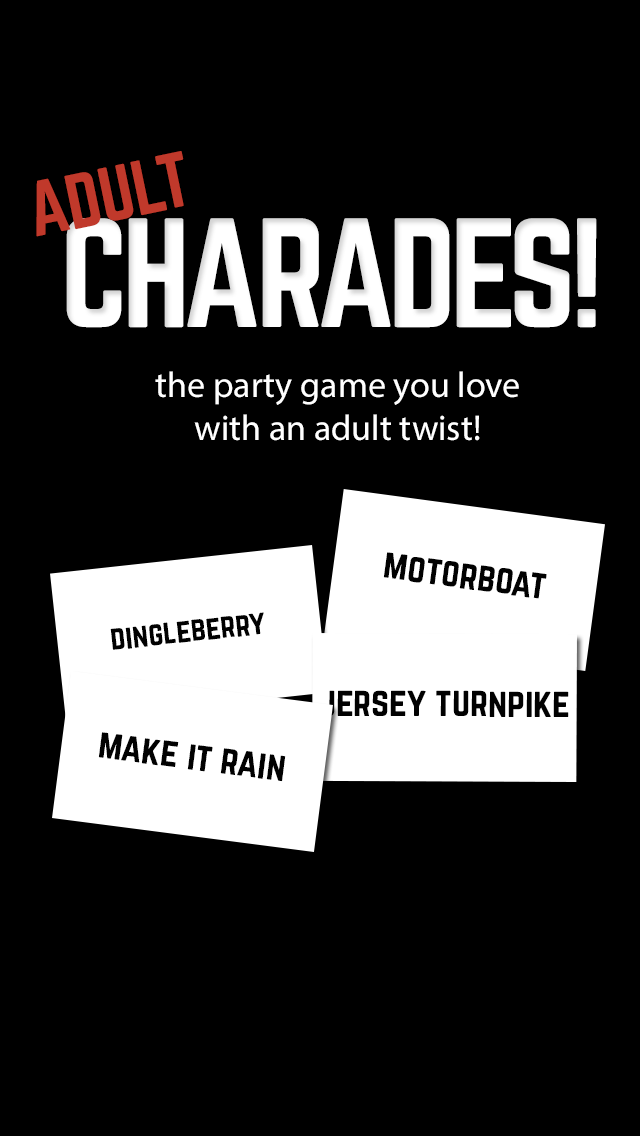 Adult Charades! Guess Words on Your Heads While Tilting Up or Down wiki review and how to guide