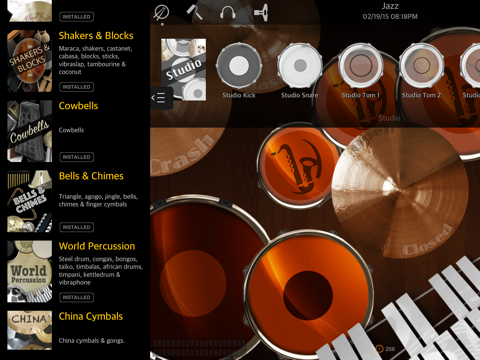 Drums XD - Studio Quality Percussion Custom Built By You!