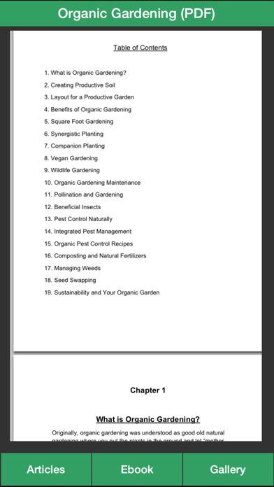 Organic Gardening Guide - A Guide To Growing Your Own Organic Vegetables screenshot four