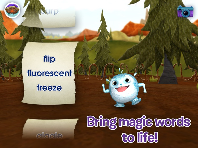 Wallykazam! Letter and Word Magic HD screenshot-3