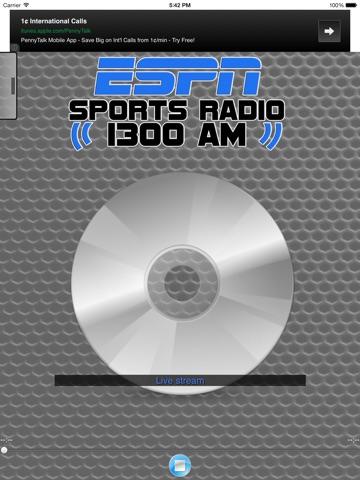 ESPN SPORTS RADIO 1300 WLXG-ipad-0